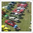 Arial Photo of Monster Transmission Auto Show