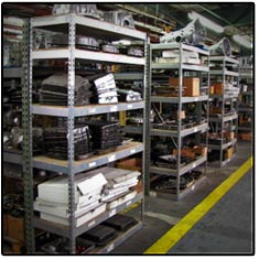 Transmission Parts Inventory